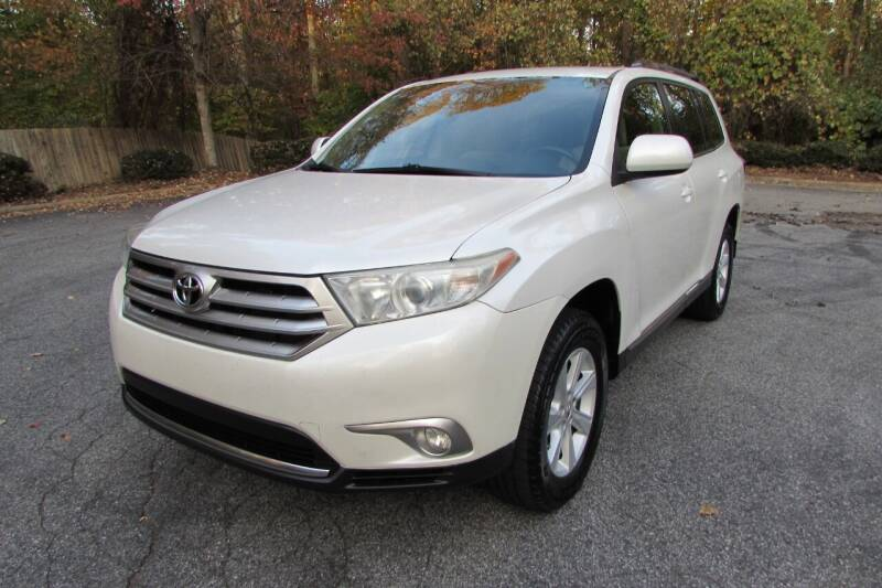 2012 Toyota Highlander for sale at AUTO FOCUS in Greensboro NC