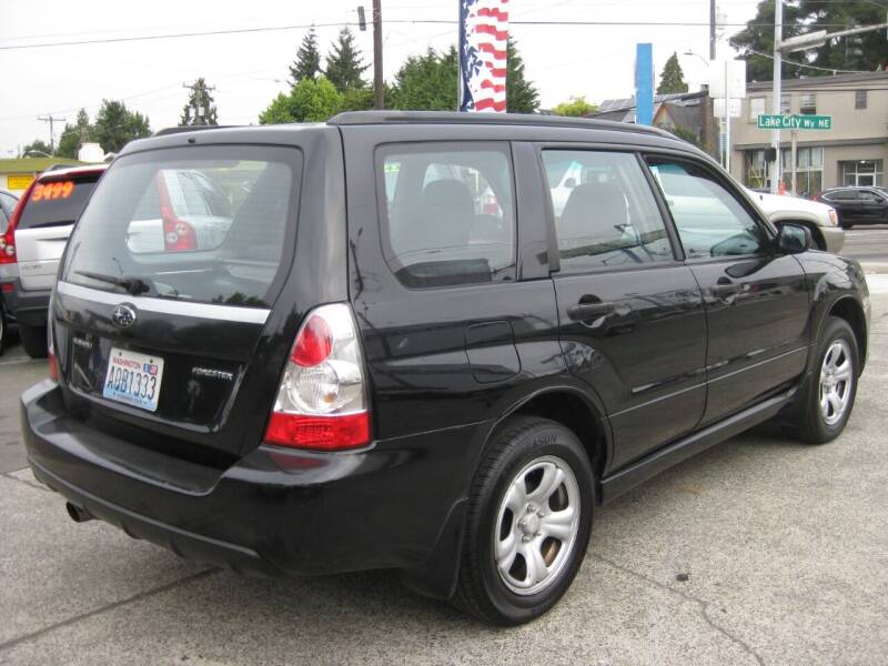 2007 Subaru Forester for sale at UNIVERSITY MOTORSPORTS in Seattle WA