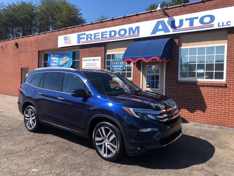 2017 Honda Pilot for sale at FREEDOM AUTO LLC in Wilkesboro NC