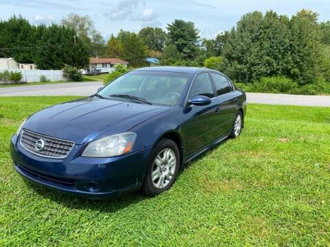 2006 Nissan Altima for sale at S & H AUTO LLC in Granite Falls NC