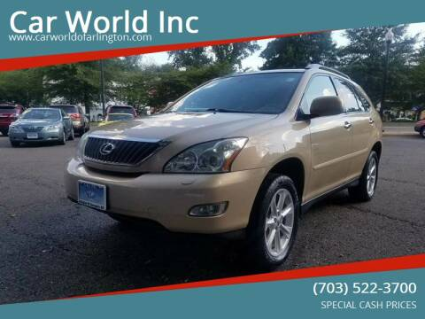 2009 Lexus RX 350 for sale at Car World Inc in Arlington VA