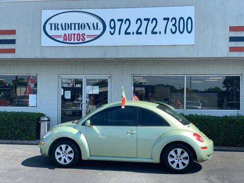 2008 Volkswagen New Beetle for sale at Traditional Autos in Dallas TX