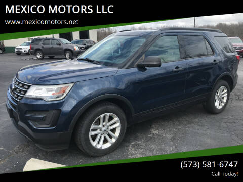 2017 Ford Explorer for sale at MEXICO MOTORS LLC in Mexico MO