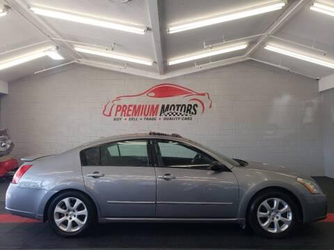 2008 Nissan Maxima for sale at Premium Motors in Villa Park IL