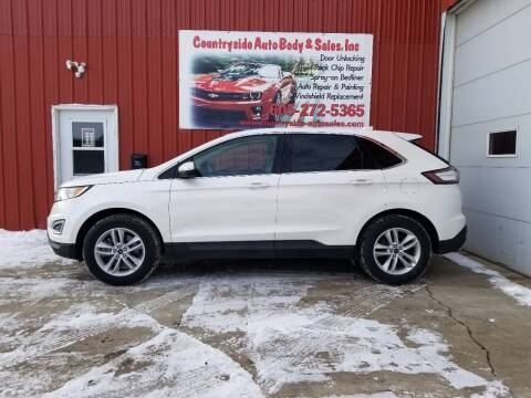 2015 Ford Edge for sale at Countryside Auto Body & Sales, Inc in Gary SD
