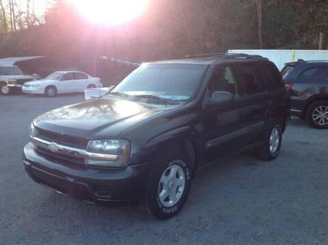 2003 Chevrolet TrailBlazer for sale at GIB'S AUTO SALES in Tahlequah OK