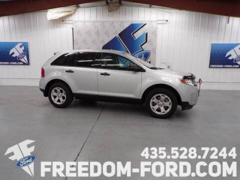 2014 Ford Edge for sale at Freedom Ford Inc in Gunnison UT