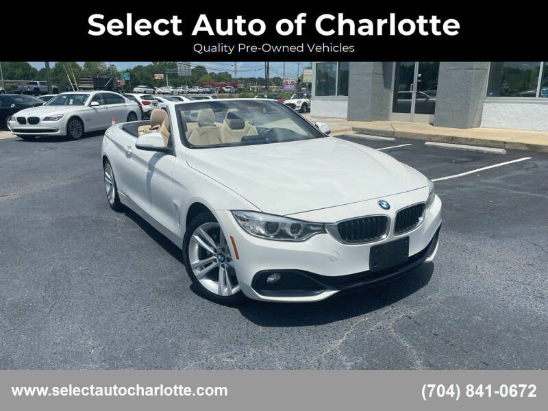 2017 BMW 4 Series for sale at Select Auto of Charlotte in Matthews NC