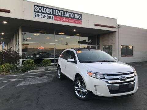 2013 Ford Edge for sale at Golden State Auto Inc. in Rancho Cordova CA