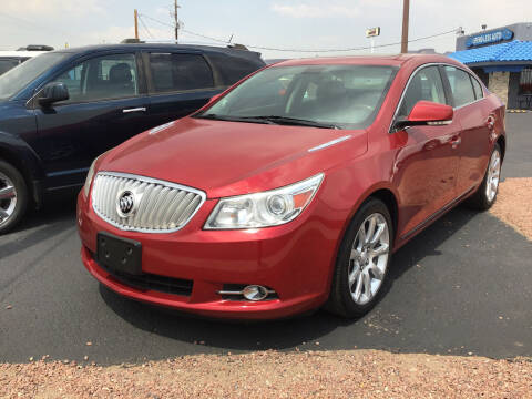 2012 Buick LaCrosse for sale at SPEND-LESS AUTO in Kingman AZ