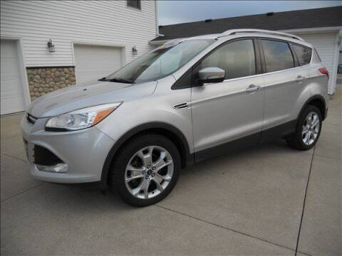 2014 Ford Escape for sale at OLSON AUTO EXCHANGE LLC in Stoughton WI
