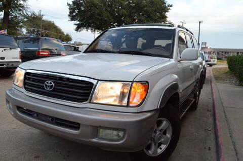 2000 Toyota Land Cruiser for sale at E-Auto Groups in Dallas TX