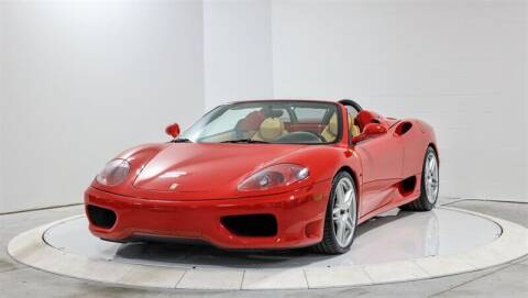 2002 Ferrari 360 Spider for sale at Mershon's World Of Cars Inc in Springfield OH