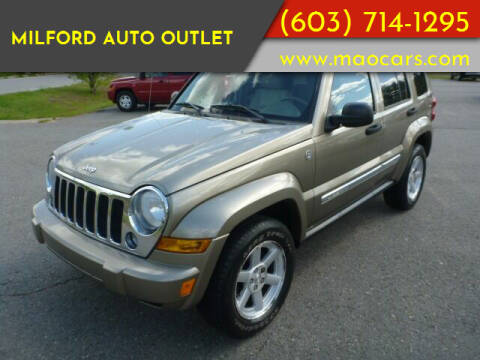 2007 Jeep Liberty for sale at Milford Auto Outlet in Milford NH