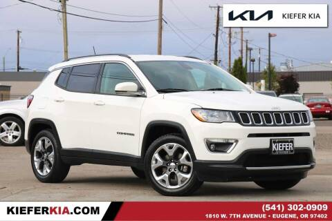 2019 Jeep Compass for sale at Kiefer Kia in Eugene OR