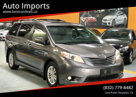 2014 Toyota Sienna for sale at Auto Imports in Houston TX