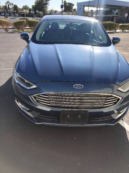 2018 Ford Fusion for sale in Las Vegas, NV