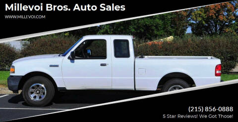 2011 Ford Ranger for sale at Millevoi Bros. Auto Sales in Philadelphia PA
