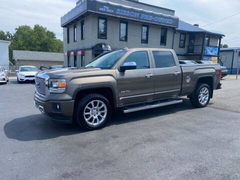 2015 GMC Sierra 1500 for sale at Sisson Pre-Owned in Uniontown PA