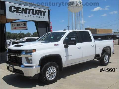 2020 Chevrolet Silverado 2500HD for sale at CENTURY TRUCKS & VANS in Grand Prairie TX