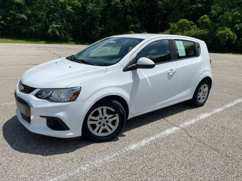 2017 Chevrolet Sonic for sale at Lifetime Automotive LLC in Middletown OH