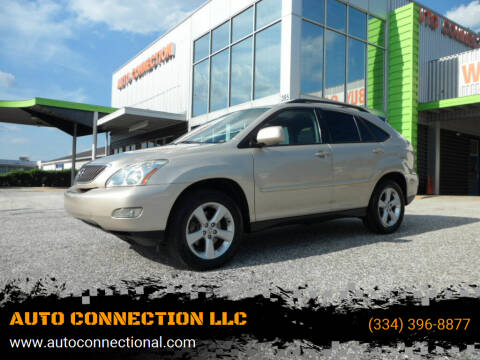 2006 Lexus RX 330 for sale at AUTO CONNECTION LLC in Montgomery AL