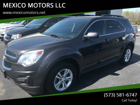 2013 Chevrolet Equinox for sale at MEXICO MOTORS LLC in Mexico MO