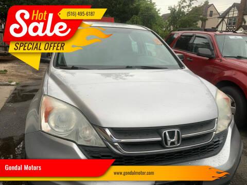 2010 Honda CR-V for sale at Gondal Motors in West Hempstead NY