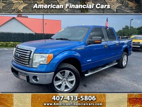 2011 Ford F-150 for sale at American Financial Cars in Orlando FL
