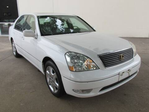 2001 Lexus LS 430 for sale at QUALITY MOTORCARS in Richmond TX