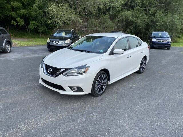 2016 Nissan Sentra for sale at Ryan Brothers Auto Sales Inc in Pottsville PA