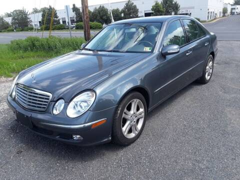 2006 Mercedes-Benz E-Class for sale at M & M Auto Brokers in Chantilly VA