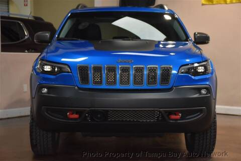 2019 Jeep Cherokee for sale at Tampa Bay AutoNetwork in Tampa FL