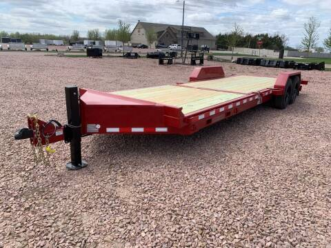 2021 Midsota TB-24 Split Tilt #4210 for sale at Prairie Wind Trailers, LLC in Harrisburg SD