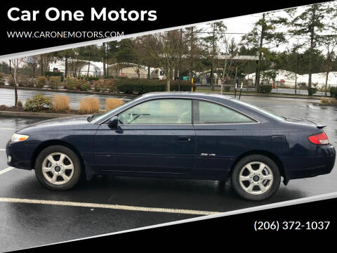 2000 Toyota Camry Solara for sale at Car One Motors in Seattle WA