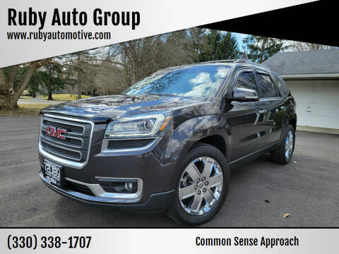 2017 GMC Acadia Limited for sale at Ruby Auto Group in Hudson OH