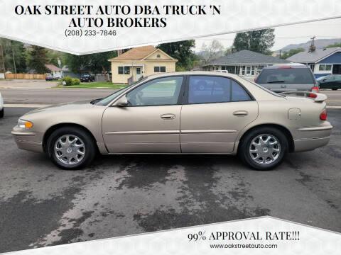 2000 Buick Regal for sale at Oak Street Auto DBA Truck 'N Auto Brokers in Pocatello ID