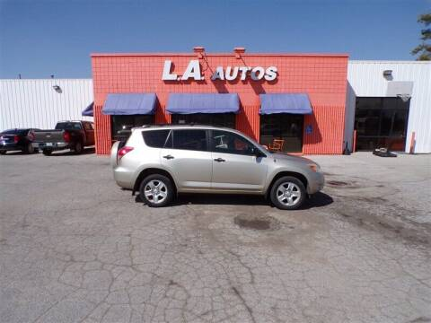 2007 Toyota RAV4 for sale at L A AUTOS in Omaha NE
