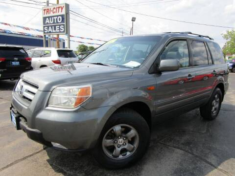 2008 Honda Pilot for sale at TRI CITY AUTO SALES LLC in Menasha WI