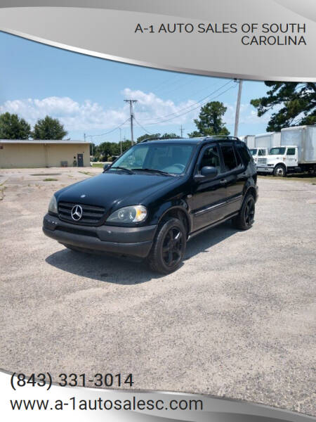 1999 Mercedes-Benz M-Class for sale at A-1 Auto Sales Of South Carolina in Conway SC