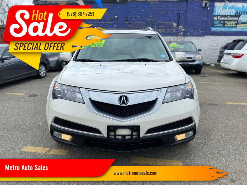 2011 Acura MDX for sale at Metro Auto Sales in Lawrence MA