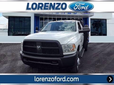2012 RAM Ram Chassis 3500 for sale at Lorenzo Ford in Homestead FL