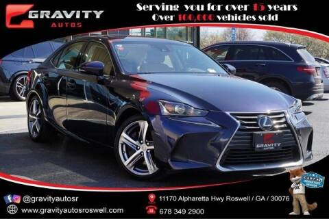 2018 Lexus IS 300 for sale at Gravity Autos Roswell in Roswell GA