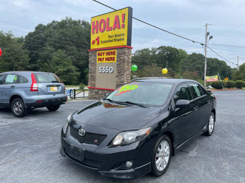 2010 Toyota Corolla for sale at No Full Coverage Auto Sales in Austell GA