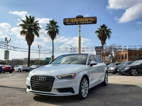 2015 Audi A3 for sale at A MOTORS SALES AND FINANCE in San Antonio TX