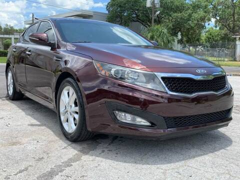 2012 Kia Optima for sale at Consumer Auto Credit in Tampa FL