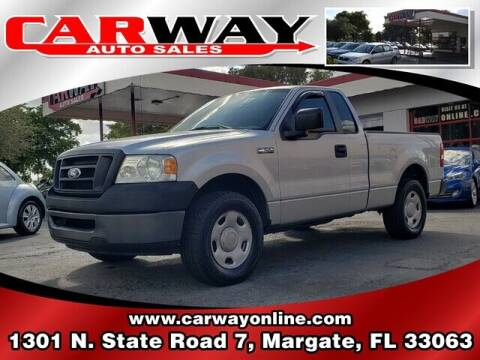 2007 Ford F-150 for sale at CARWAY Auto Sales in Margate FL