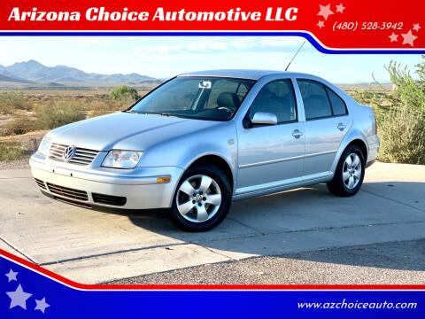 2005 Volkswagen Jetta for sale at Arizona Choice Automotive LLC in Mesa AZ