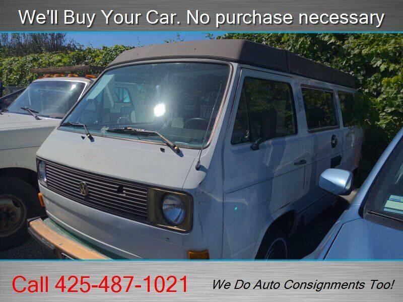 1983 Volkswagen Vanagon for sale at Platinum Autos in Woodinville WA