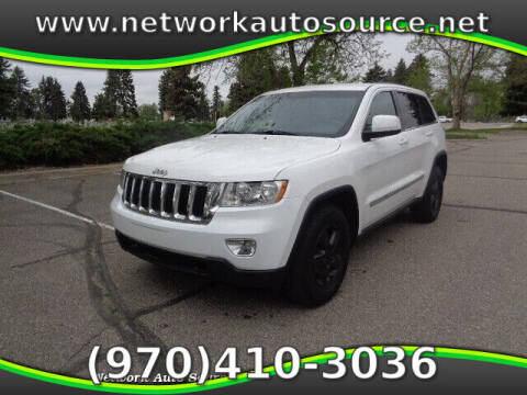 2013 Jeep Grand Cherokee for sale at Network Auto Source in Loveland CO